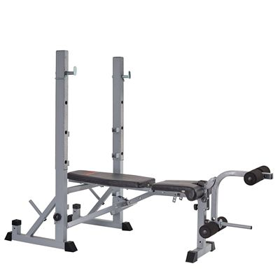 York B540 2 in 1 Weight Bench - Flat