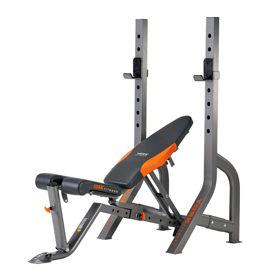 York Diamond Olympic Narrow Stance Barbell Bench