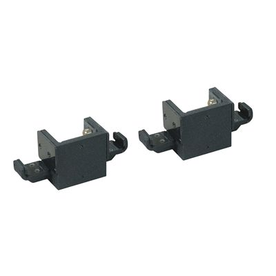 York Double Bar Holders - Pair