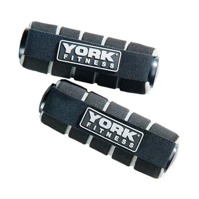 York Fitness 2 x 1kg Mini Hand Weights