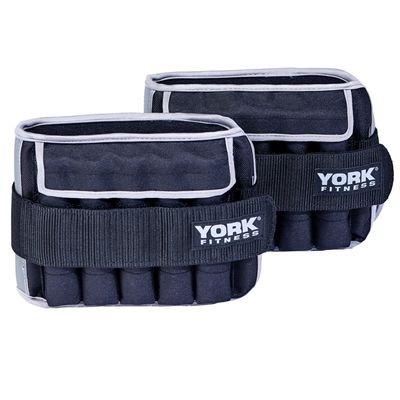 York Fitness 2 x 5kg Ankle Weights - Additional