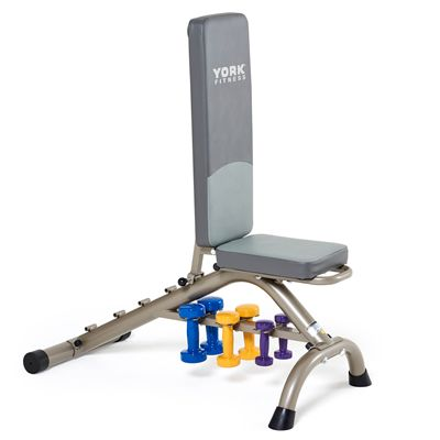 York Fitness Bench - 90 Deg - In Use