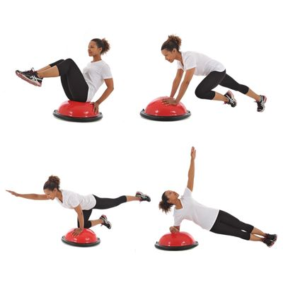 York Fitness Tone Dome Balance Trainer - Exercises1
