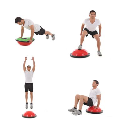 York Fitness Tone Dome Balance Trainer - Exercises2