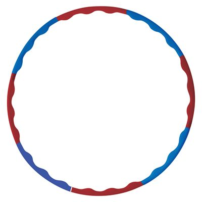 York Fitness Weighted Hula Hoop