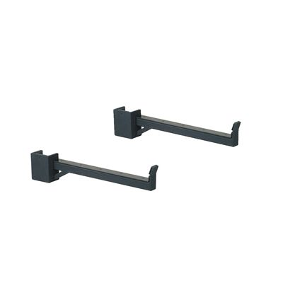 York Half Rack Safety Spot Bars - PairYork Half Rack Safety Spot Bars - Pair