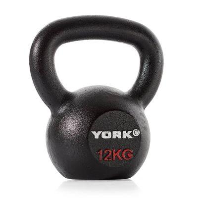 York Hercules Cast Iron Kettlebells - 12kg