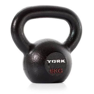 York Hercules Cast Iron Kettlebells - 6kg