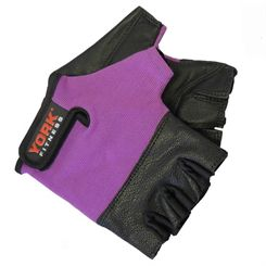 York Ladies Leather Weightlifting Gloves