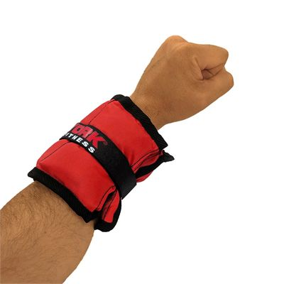 York Nylon Wrist and Ankle Weights - 1kg - In Use