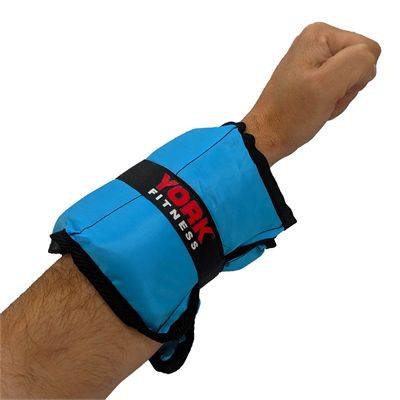 York Nylon Wrist and Ankle Weights - 2kg - In Use