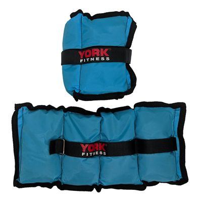 York Nylon Wrist and Ankle Weights - 2kg