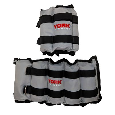 York Nylon Wrist and Ankle Weights - 3kg