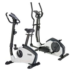 York Fitness Perform 215 Cross Trainer and Upright Bike Set