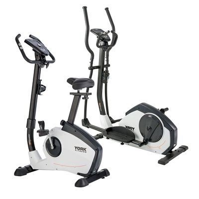 York Perform 215 Cross Trainer and Bike Set