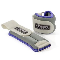 York Soft Ankle and Wrist Weights 2 x 0.5kg