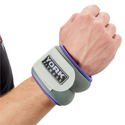 York Soft Ankle and Wrist Weights 2 x 0.5kg - In Use2