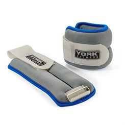 York Soft Ankle and Wrist Weights 2 x 1.5kg