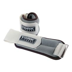 York Soft Ankle and Wrist Weights 2 x 1kg