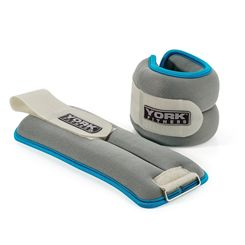 York Soft Ankle and Wrist Weights 2 x 2kg