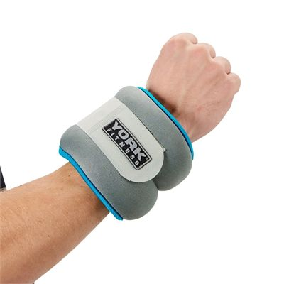 York Soft Ankle and Wrist Weights 2 x 2kg - In Use2