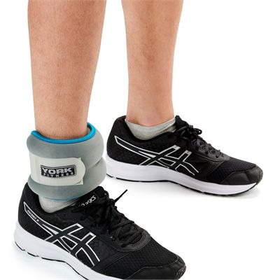 York Soft Ankle and Wrist Weights 2 x 2kg - In Use