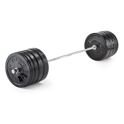 York Solid Rubber Bumper Olympic Weight Plates