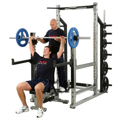 York STS Multifunction Rack - in use