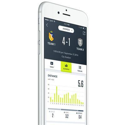 Zepp Play Football Analyser - App2