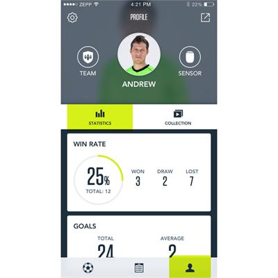 Zepp Play Football Analyser - App7