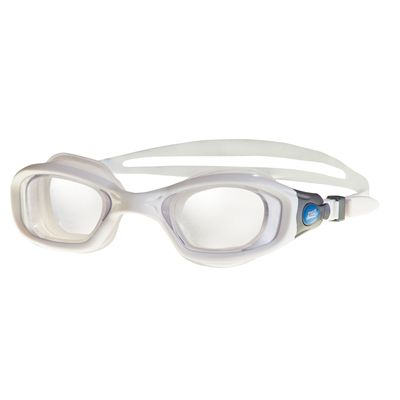 Zoggs Ultima Air Goggles White and Blue