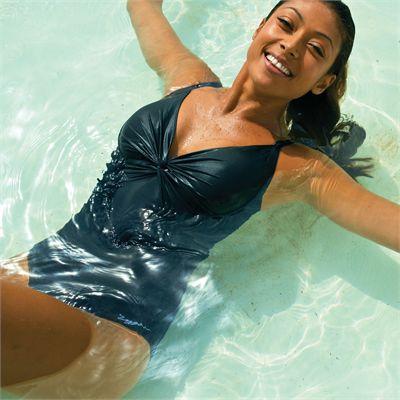 Zoggs Alexandra  Adjustable Scoopback Ladies Swimsuit - Model-5