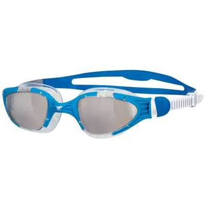 Zoggs Aqua Flex Swimming Goggles-Clear and Blue