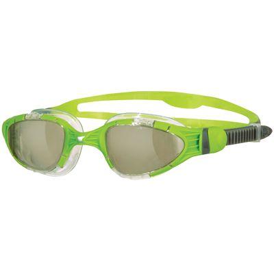 Zoggs Aqua Flex Titanium Swimming Goggles-Lime