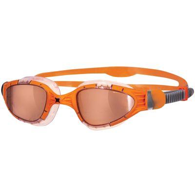 Zoggs Aqua Flex Titanium Swimming Goggles-Orange