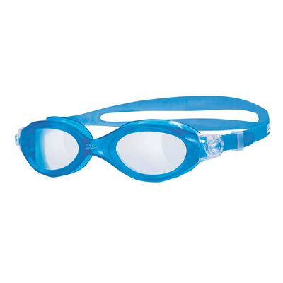 Zoggs Athena Ladies Swimming Goggles - Clear Lens With Blue Frame