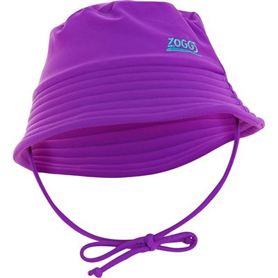 Zoggs Barlins Bucket Hat Sun Protection Hat - Purple