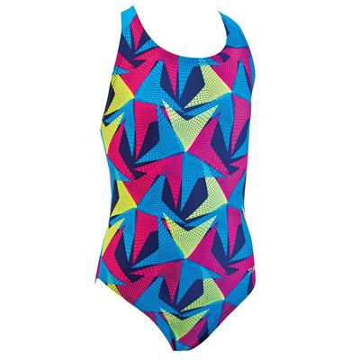 Zoggs Belmore Flyback Girls Swimsuit