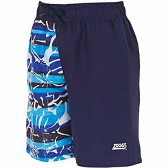 Zoggs Broken Tide Two-Tone 15 inch Boys Swimming Shorts