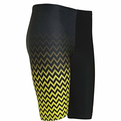 Zoggs Chevron Boys Jammer - Yellow - Side