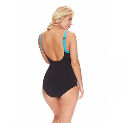 Zoggs Coogee Sonicback Ladies Swimsuit front - Back