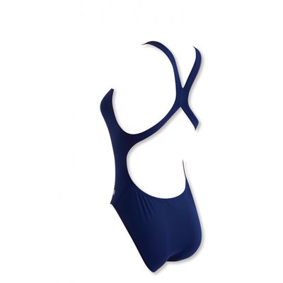 Zoggs Cottesloe Flyback Ladies Swimsuit - Blue - CostumeBack