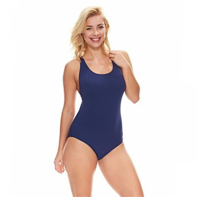 Zoggs Cottesloe Flyback Ladies Swimsuit - Blue