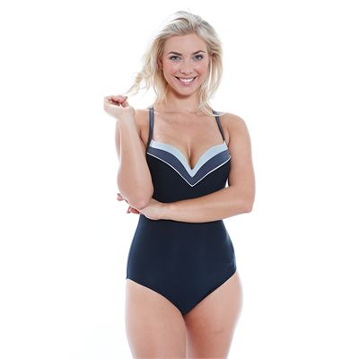 Zoggs Deco Tribe Tarcoola Boostsuit Ladies Swimsuit-Front
