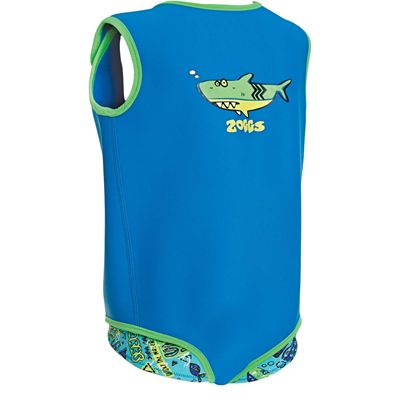 Zoggs Deep Sea Neoprene Baby Wrap - Back