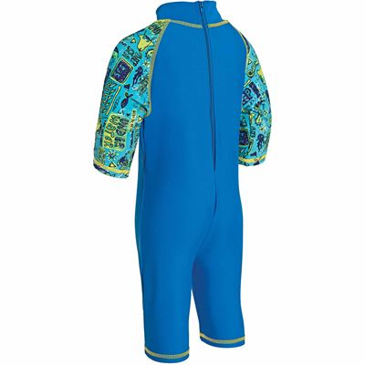 Zoggs Deep Sea Sun Protection One Piece Suit - Back
