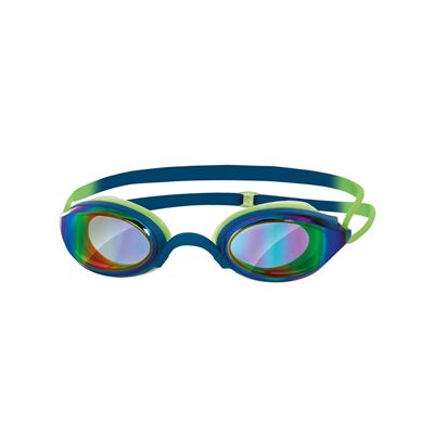 Zoggs Fusion Air Gold Mirror Swimming Goggles SS17-blue