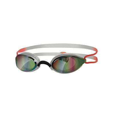 Zoggs Fusion Air Gold Mirror Swimming Goggles SS17-silver