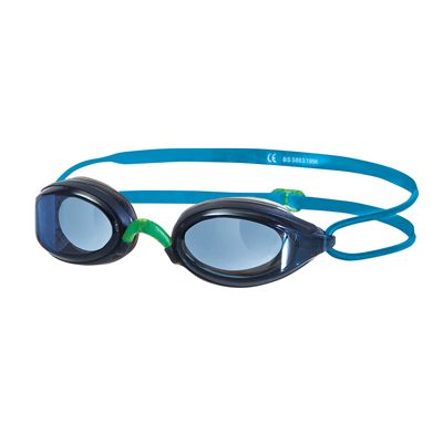 Zoggs Fusion Air Junior Goggles - Blue Frame And Blue Lenses