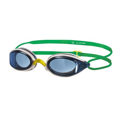 Zoggs Fusion Air Junior Goggles - White Frame And Blue Lenses